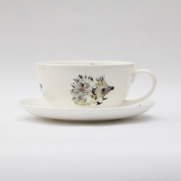 Hedgehog cup &saucer