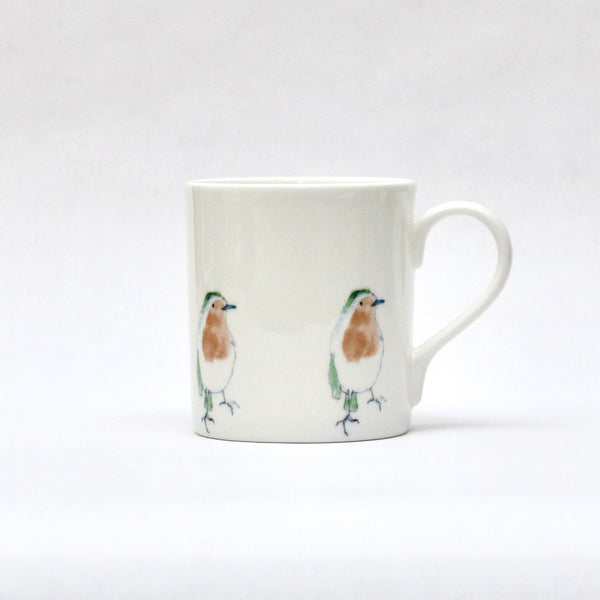 Christmas robin mug (small robins)