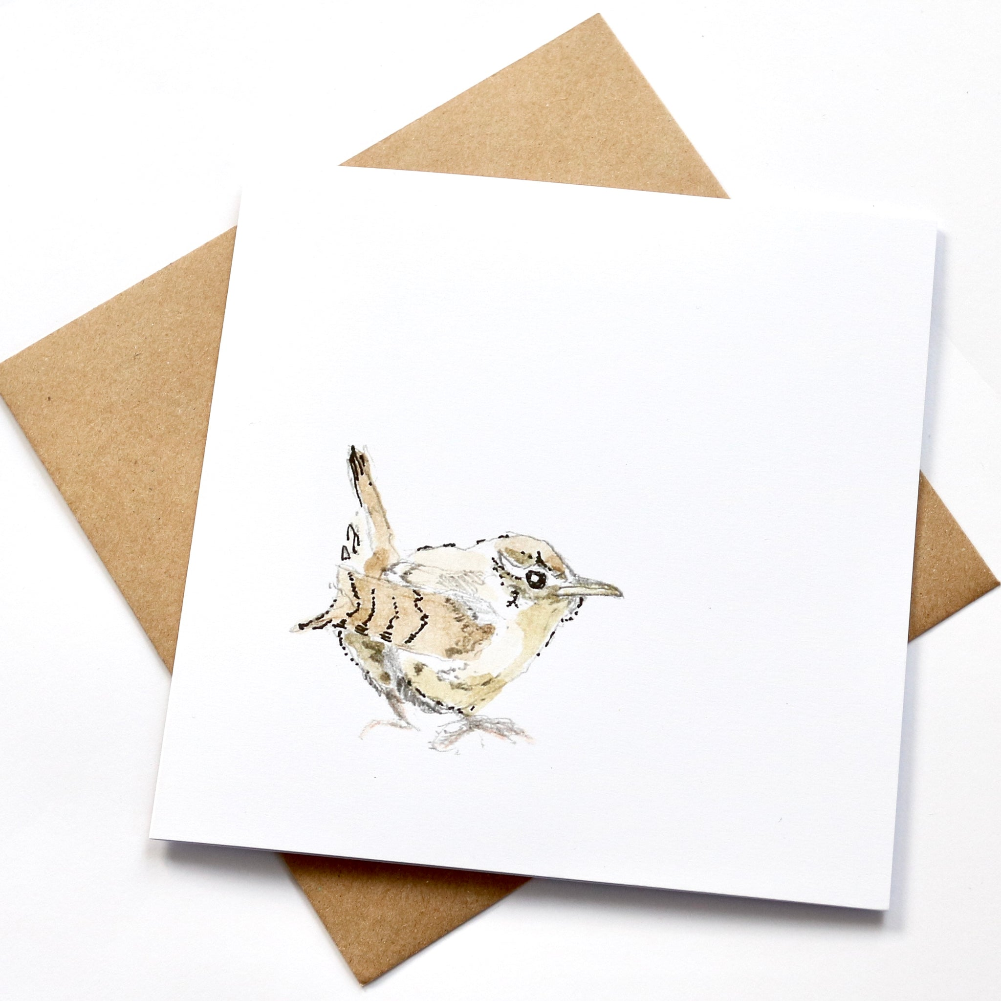 Wren square card