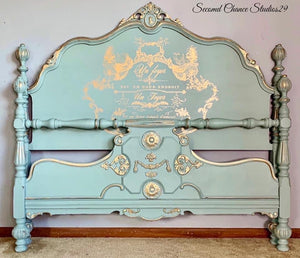 Stunning Jacobean Bed!