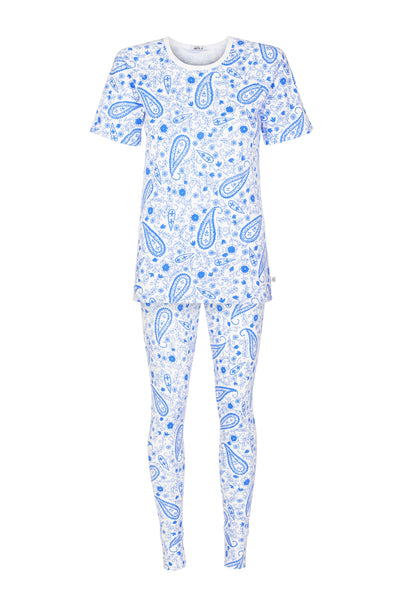 Paisley Blue Mama Pyjamas **Flash Sale**