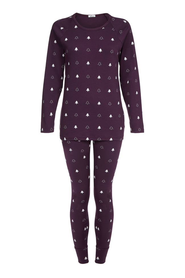 Mulled Winter Trees - Ladies Pyjamas