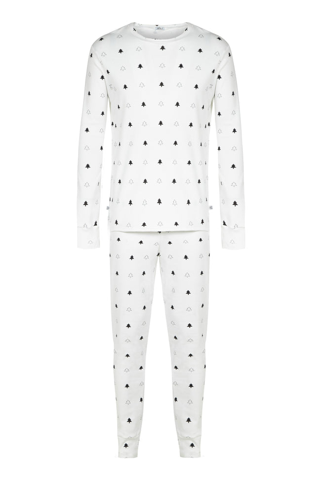 White Winter Trees - Gentleman's / Ladies Looser fitting Pyjamas