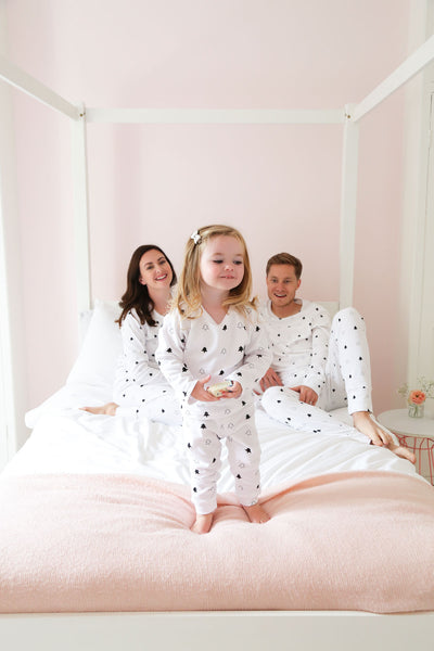 White Winter Trees Children's Pyjamas