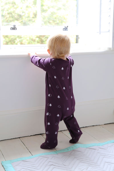 Mulled Winter Trees Sleep Suit **60% off**