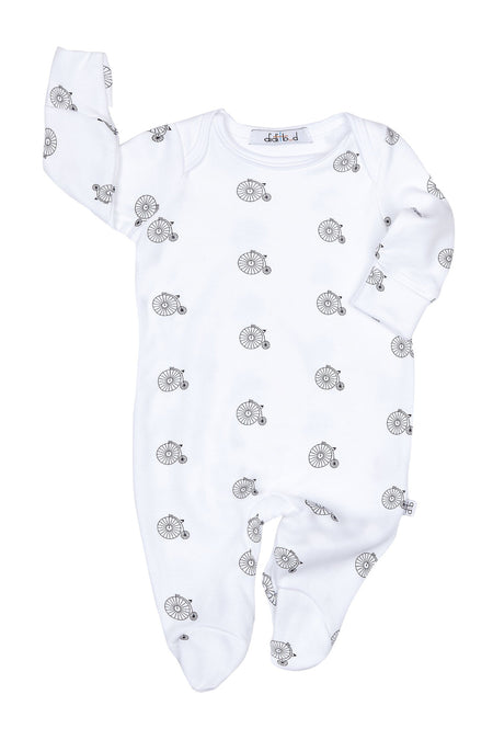 White Winter Trees Sleep Suit