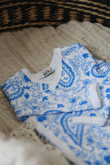Paisley Blue Women's Pyjamas **30% OFF**
