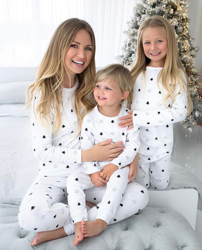 White Winter Trees - Ladies Pyjamas **Pre-order**