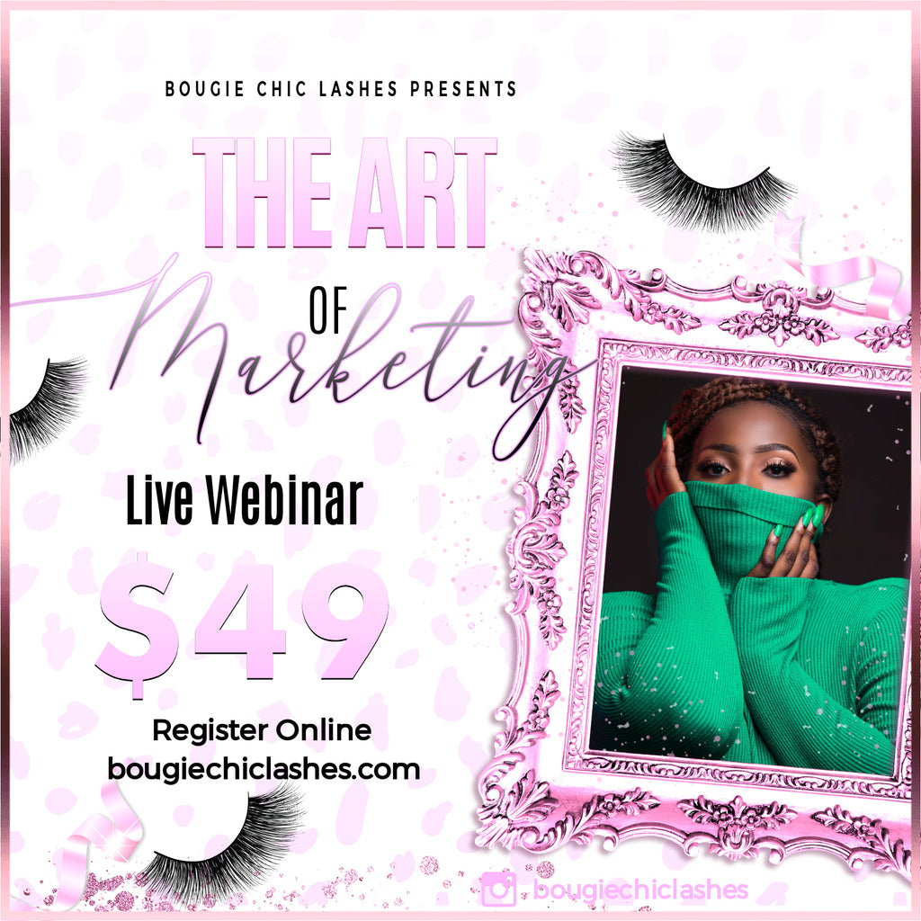 The Art of Marketing- Sunday Feb 23 5pmEST(Replay Available)