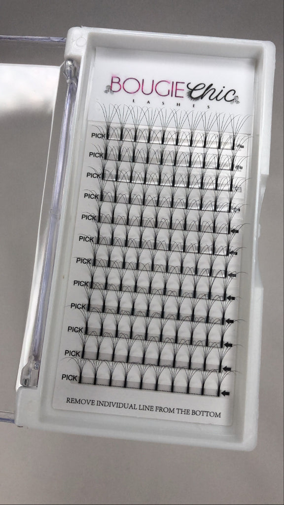 Volume Lash Trays (Premade)