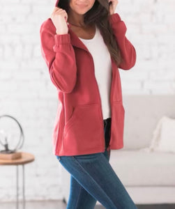 Skyla Full Zip Sweatshirt Jacket + FREE SHIPPING