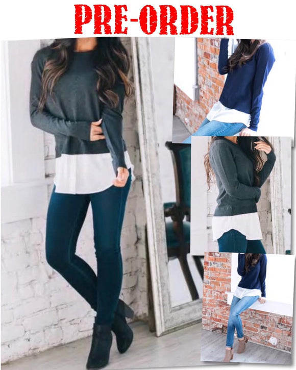 Envy Tunic Sweater
