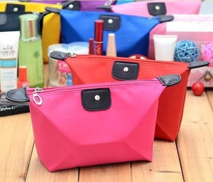 Longchamp Inspired Nylon Cosmetic or Travel Bags