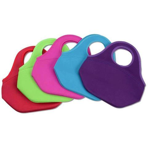 Neoprene Lunch Totes