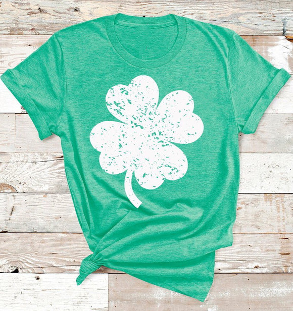 St. Patrick's Day Shamrock HEAT TRANSFER