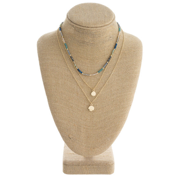 Trio Layered Necklace + FREE SHIPPING