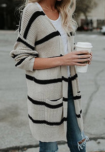 Striped Cardigans