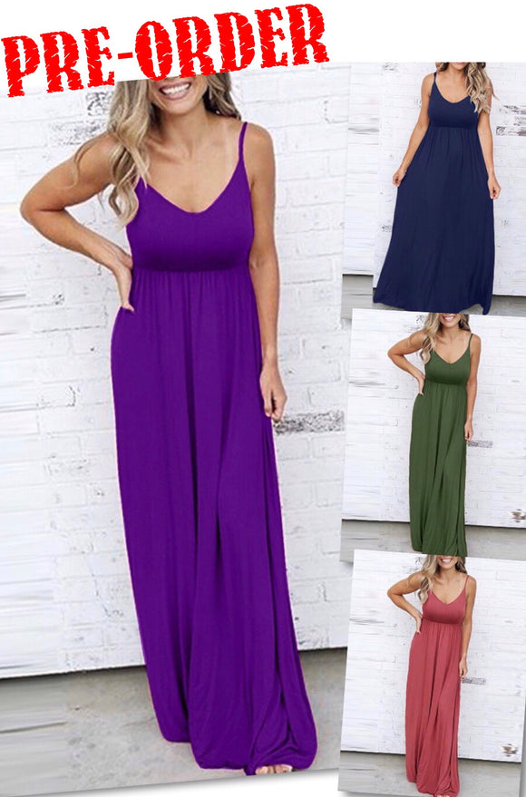 Don't Forget Me Maxi Dress