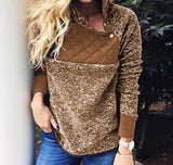 Wyoming Quilted Top Pullover