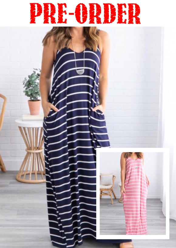 Summer Lovin' Maxi Dress w/Pockets