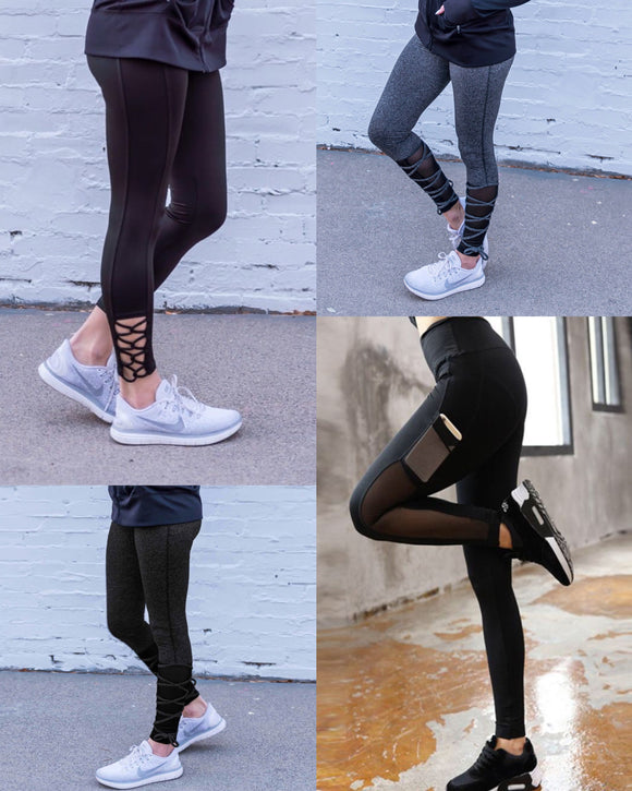 Athleisure Wear Pants/Leggings
