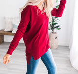 Ruby V-Neck Lightweight Sweater + FREE SHIPPING