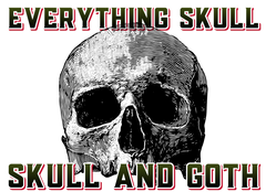 Everything Skull and Gothic Clothing and Merchandise - worlds largest collection of skull and goth merchandise