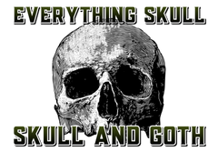 Everything Skull Popular Clothing and Merchandise - worlds largest collection of skull and Gothic merchandise since 2015