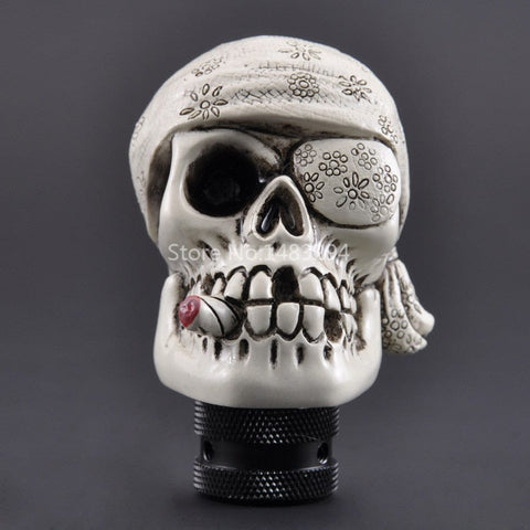 Skull Manual Universal Auto Gear Stick Shift Knob