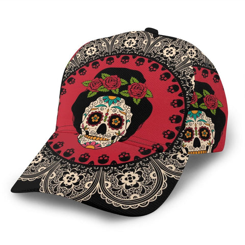 Mexican Skull Snapback Classic Style Casual Hat