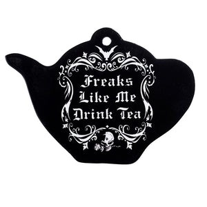 Ceramic Freaks Like Me Drinks Tea Coaster
