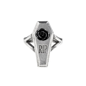 Dark & Deadly RIP Rose Ring
