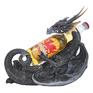 Gothic Sharp Fangs & Pointy Tail Dragon Beverage Holder