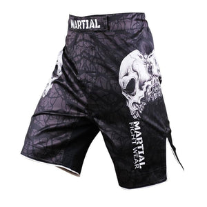 MMA Men's Skull Pattern Shorts 2 Colors