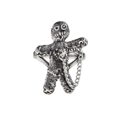 Peg-Hole at The Heart Voodoo Doll Ring