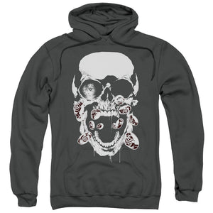 Screaming Skull Head Pullover Hoodie