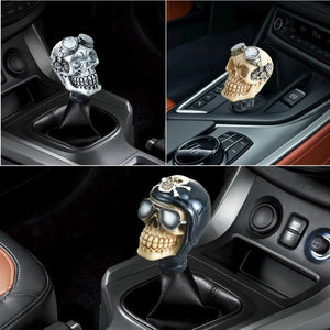Universal Skull Head Gear Manual Transmission Gear Shift Knob