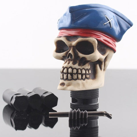 Pirates Skull Universal Car Manual Gear Shift Knob