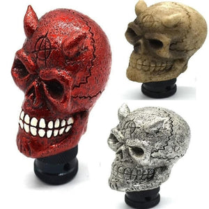 Skull Head Universal Gear Shift Knob 3 Colors