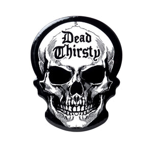 Skull Dead Thirsty Table Drink Coaster