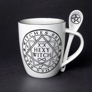 Witches Brew Hexy Witch Cup and Spoon