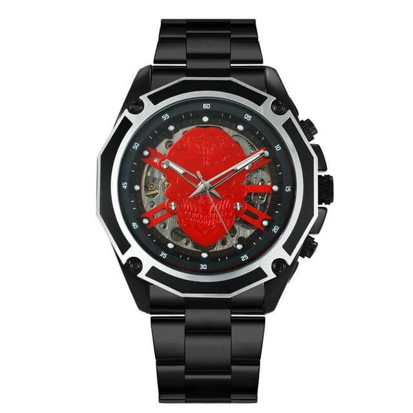 Skull Luxury Automatic Mechanical Watch - Skull Clothing and Accessories Skull only Merchandise