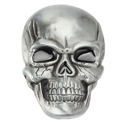 Skull Skeleton Smooth Punk Rock Style Belt Buckle - Skull Clothing and Accessories Skull only Merchandise