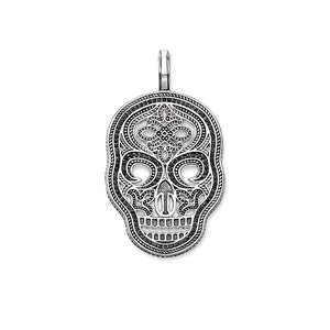 Pendant Skull Mask Jewelry Sterling Silver - Skull Clothing and Accessories Skull only Merchandise