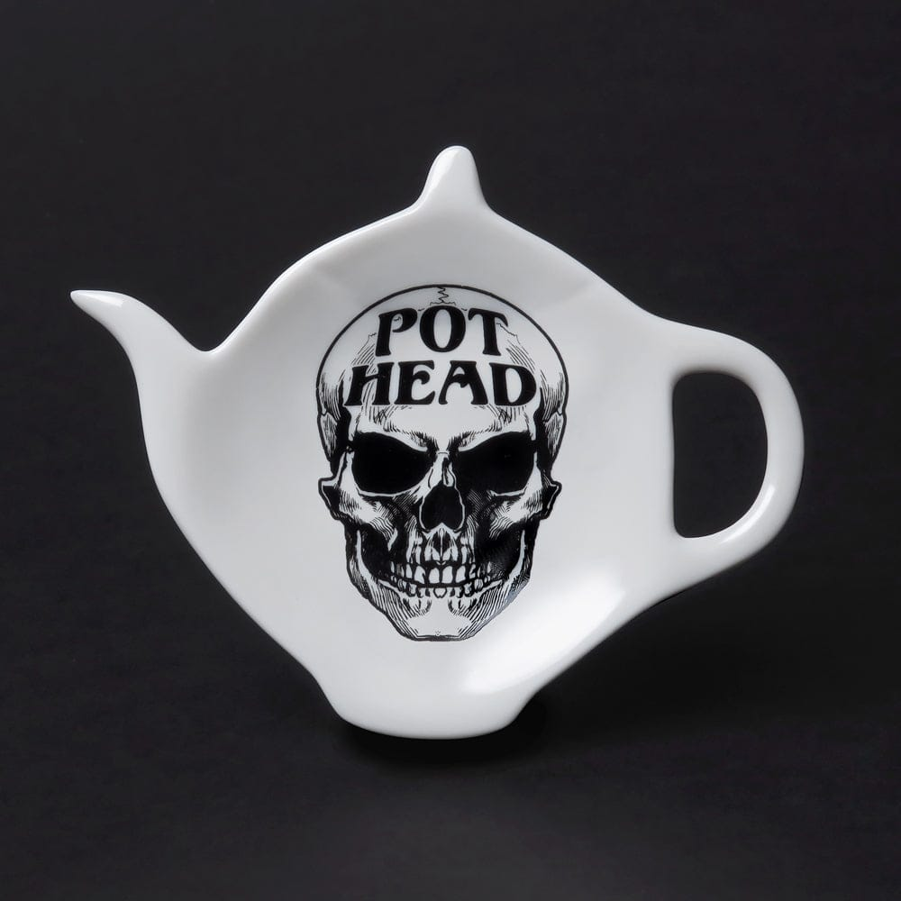 Skull Pot Head T-Spoon Holder