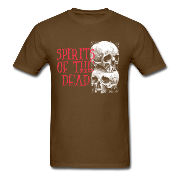 Spirits of the Dead T-Shirt - brown