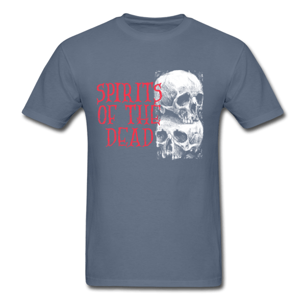 Spirits of the Dead T-Shirt - denim
