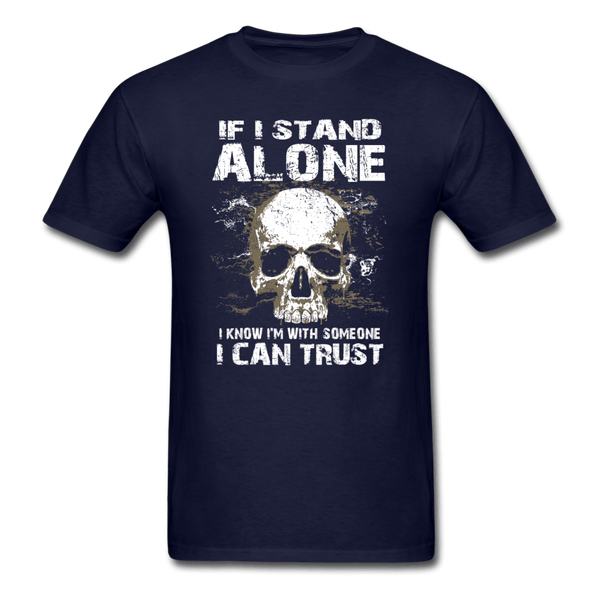 If I stand Alone T-Shirt - navy