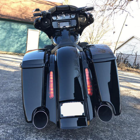 Motorcycle Accessories & Parts Covers & Ornamental Mouldings Motorcycle Cvo Rear Fender For Harley Touring Electra Glide Road King Street Glide Road Glide Custom 2009-2013 In Many Styles