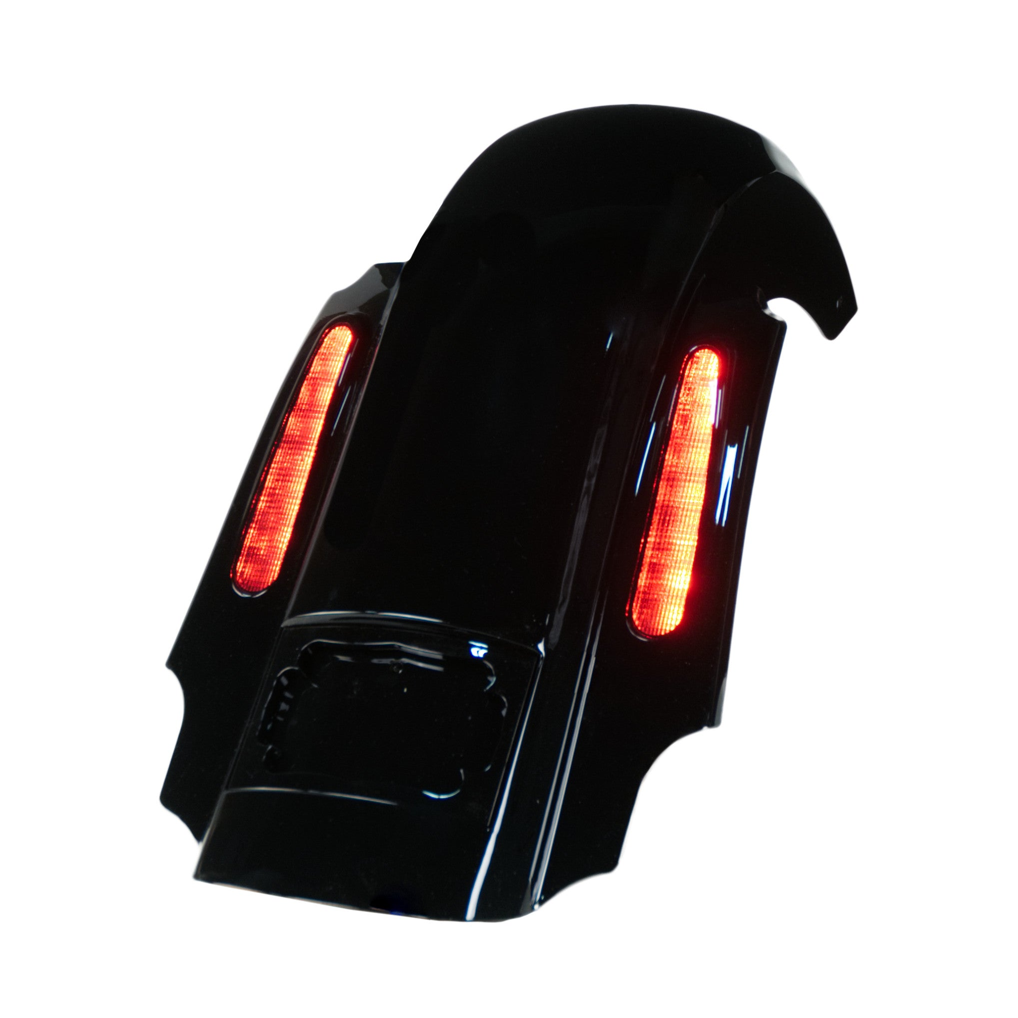 LED Lights match rear fender ABS CVO STYLE TAILLIGHTS FIT Extended Rear Fender